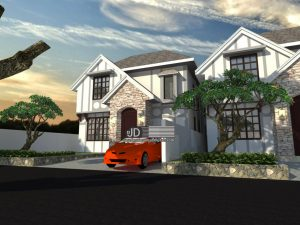 Desain farm house elegant Ibu Wenda Di Makasar akan dibangun di Bali