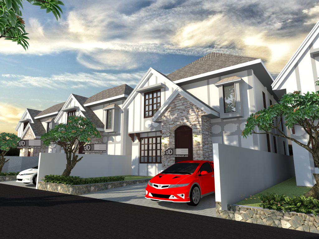 jasa desain rumah farm house