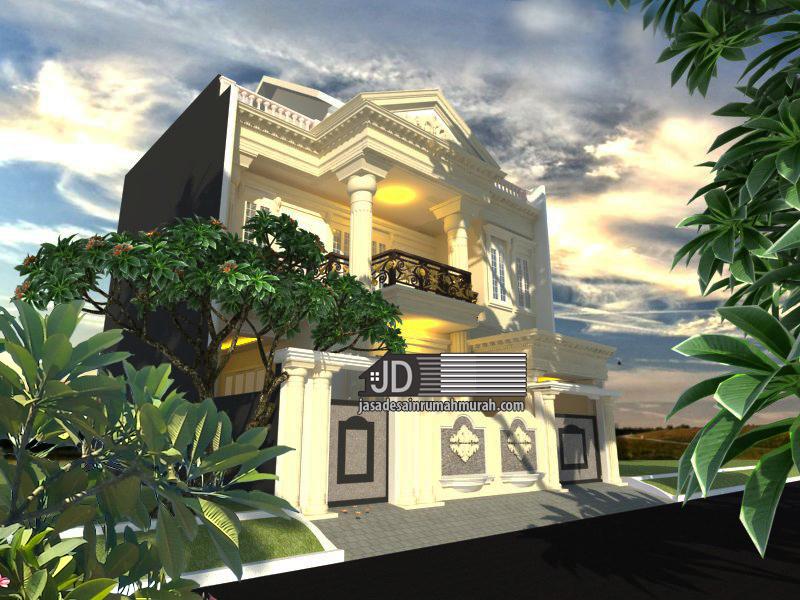 Desain Rumah Klasik Elegant