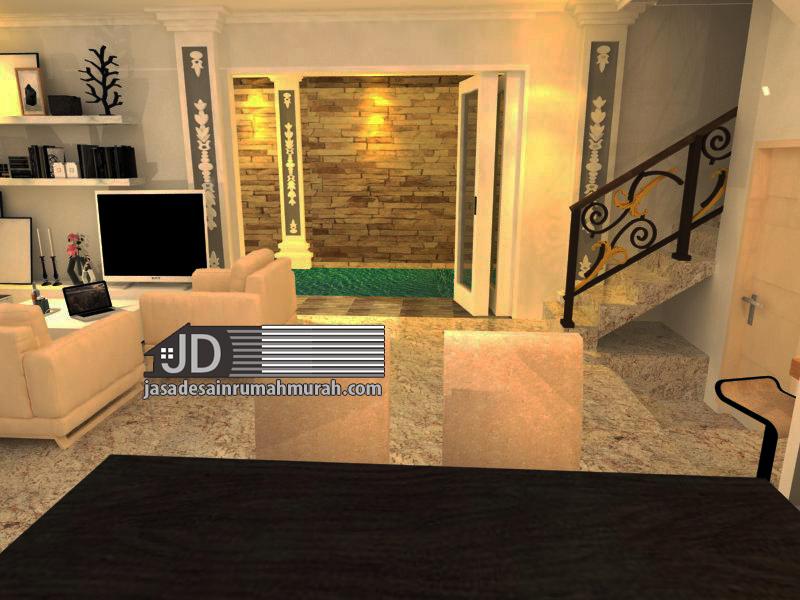 desain interior kolam renang dalam rumah
