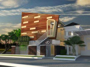Jasa desain kontrakan 12 pintu - Ibu Khusnul Sumanrana (orderan kedua) di Jakarta
