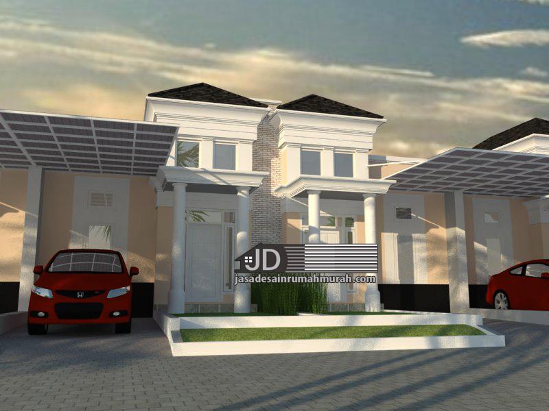 desain rumah elegant sederhana