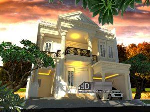 Jasa Desain Rumah Eropa Klasik di Depok