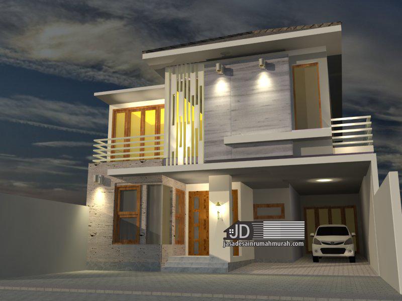 desain rumah kos mewah