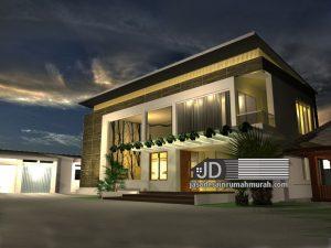 Jasa Desain Rumah Modern Kontemporer Bapak Luis Martins di Timor Leste