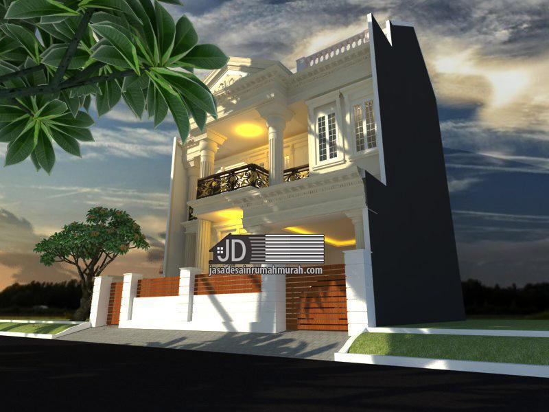 jasa arsitek rumah eropa klasik
