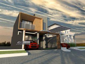 Desain Rumah Bapak Zaky Di Jakarta