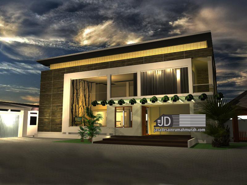 jasa arsitek rumah modern kontemporer