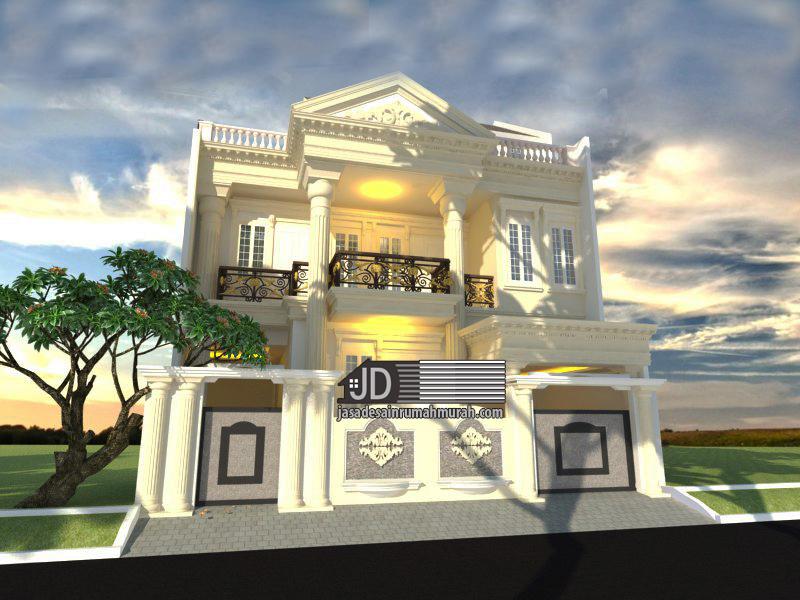 jasa desain rumah klasik