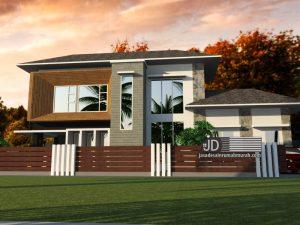 Desain Rumah Modern Kontemporer Mewah Bapak Gilang Andika Di Bekasi