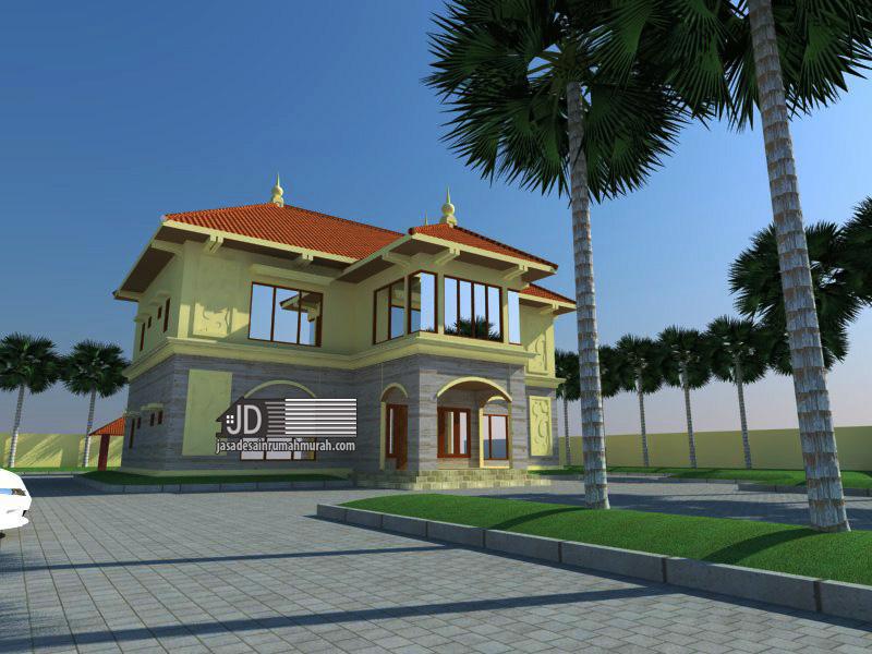 desain rumah portugis