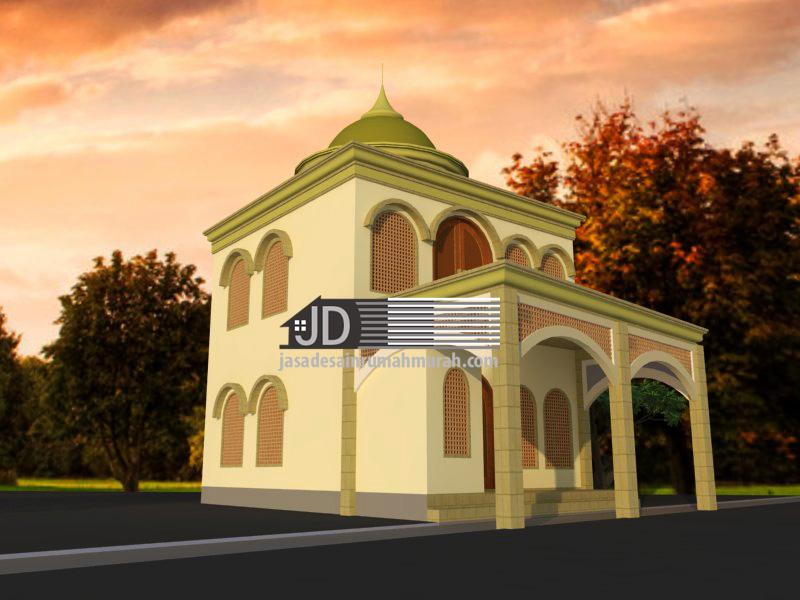Jasa desain masjid musholah
