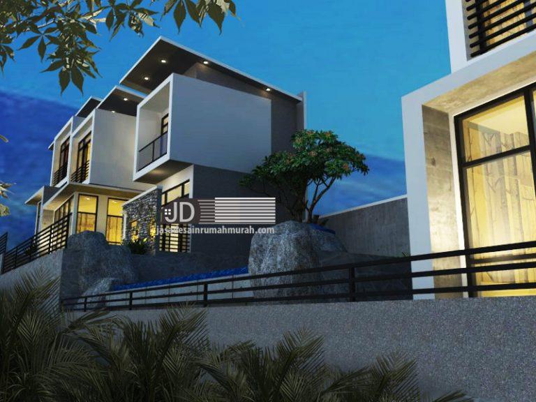 Jasa Desain Villa 2 Lantai Di Lahan Kontur Ibu Anies Di ...