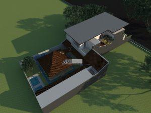 Jasa Arsitek Rumah Mewah Modern 2 Lantai
