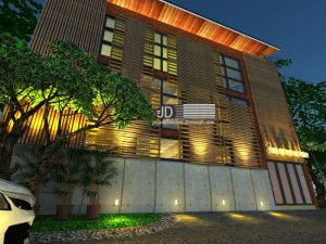 Jasa Desain Kantor Advokad Industrial Style Ibu Judith Di Jakarta (Order kedua)
