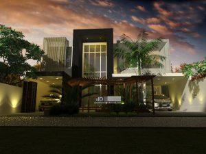 Jasa Desain Rumah Kontemporer Modern