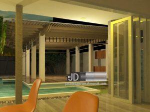 Desain Pendopo Modern Minimalis