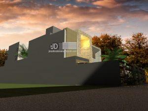 Jasa Gambar Desain Rumah Modern 2 Lantai Di Jakarta