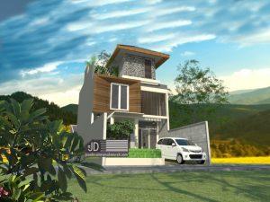 Jasa Desain Rumah Modern Minimalis Elegant 3 Lantai