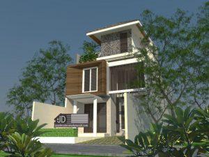 Jasa Desain Rumah Modern Minimalis Elegant