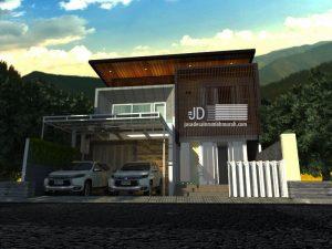 Desain Rumah Mewah Elegant 2 Lantai