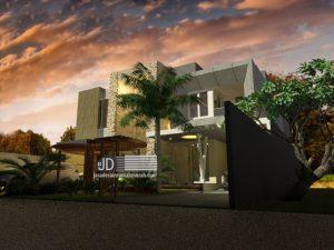 Desain Rumah Modern 2 Lantai Di Jakarta