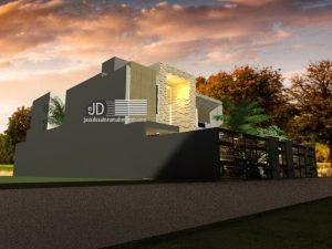 Jasa Arsitek Desain Rumah Modern 2 Lantai Di Jakarta