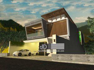 Desain Rumah Modern Kontemporer Elegant