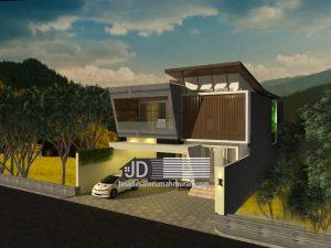Desain Rumah Modern Kontemporer Elegant Mewah