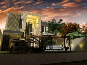 Desain Rumah Modern Kontemporer Mewah Di Jakarta