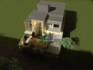 Jasa Desain Rumah Modern 2 Lantai Di Jakarta