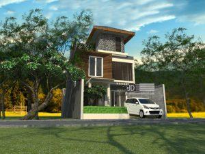 Jasa Desain Rumah Modern Elegant