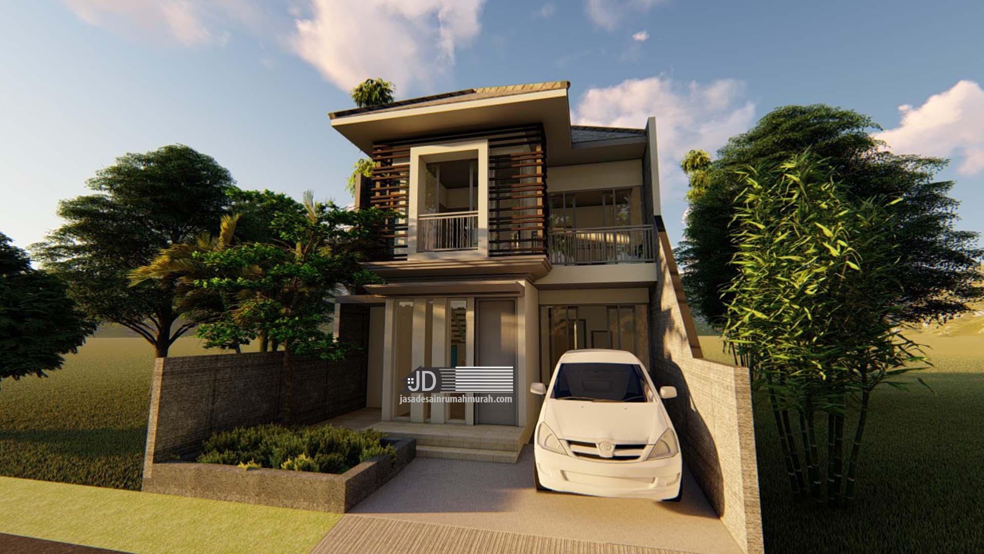56 Gambar Desain Rumah Modern Kontemporer terbaik