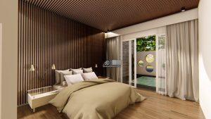 Jasa Desain Interior Kamar View Kolam Renang