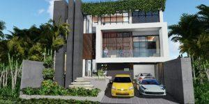 Desain Rumah Mewah Split Level