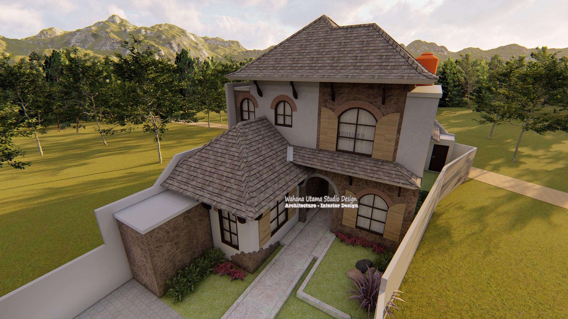 Jasa Arsitek Rumah American Style, Bapak Yunan Pranoto di ...