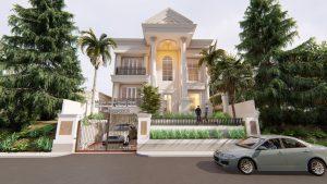 Desain Rumah Mewah Eropa Klasik