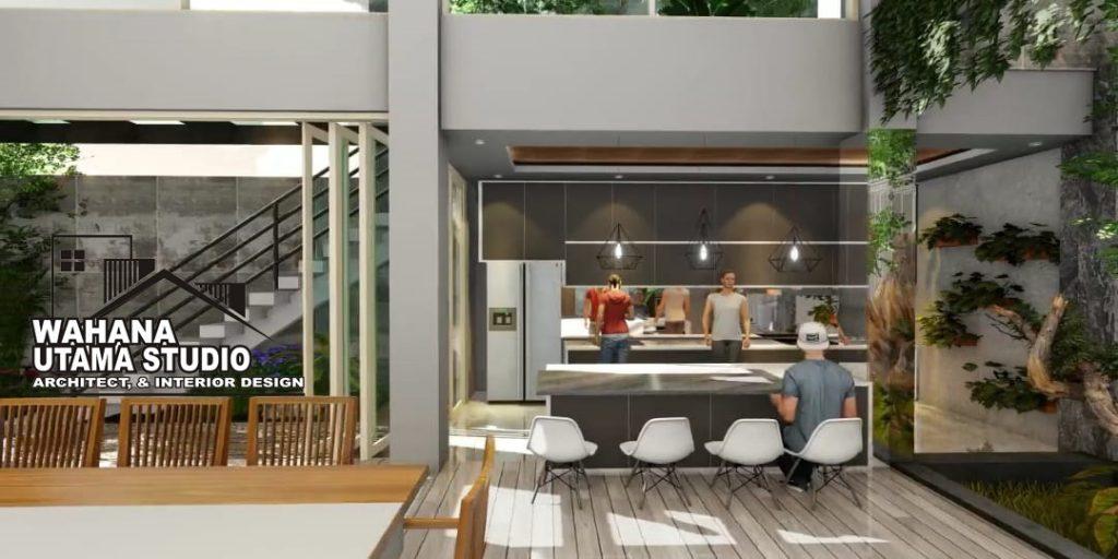 Desain Kitchen Set Rumah Mewah