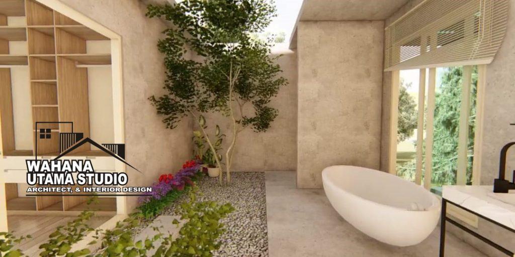 Desain Interior Kamar Mandi Rumah Mewah