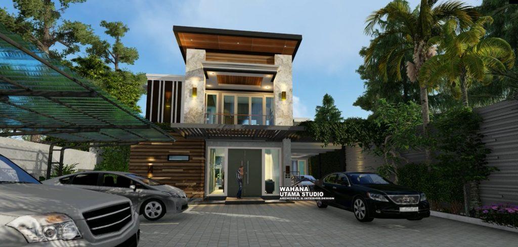Desain Rumah Mewah Mr I di Samarinda