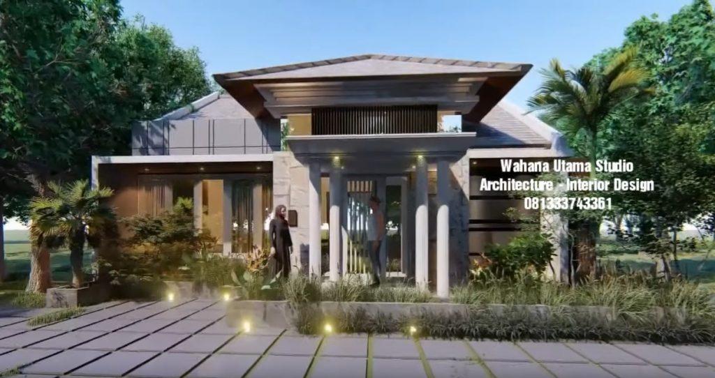 Desain Rumah Bapak Mahyudin Lubis (order ke 4)