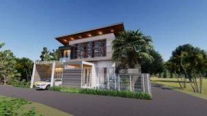 Gambar 3D Visual Rumah